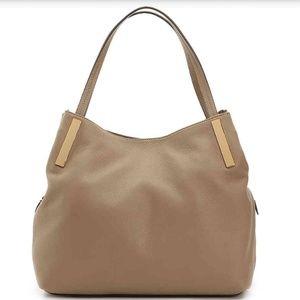 Vince Camuto tan handbag